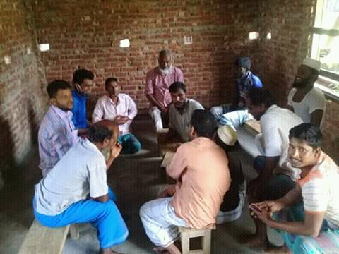 সিলেটি পাড়া জামে মসজিদ পরিচালনা কমিটির সভা অনুষ্ঠিত