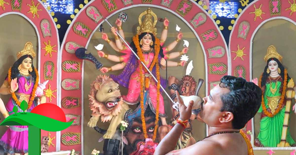 করোনামুক্ত বিশ্ব কামনা করে রাঙ্গামাটির ৪০ মন্ডপে শারদীয় দূর্গোৎসবের মহাঅষ্টমী পূজা শুরু