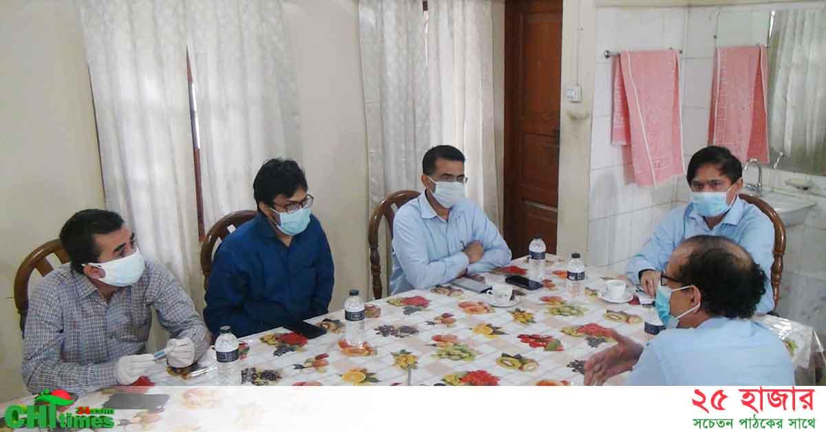 রাঙামাটিতে সড়ক উন্নয়নের কাজ দ্রুত শেষ করার তাগাদা দিলেন প্রধান প্রকৌশলী