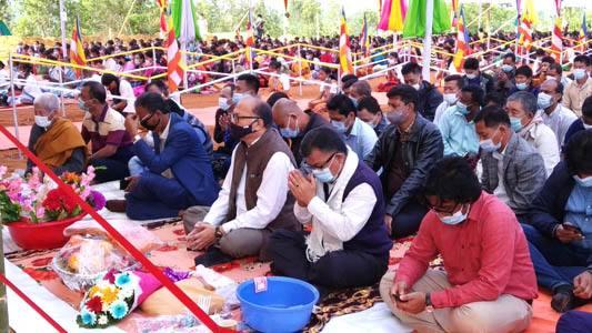 সন্ত্রাসী-অস্ত্রবাজীর পথ ধর্ম পছন্দ করে না - এমপি দীপংকর