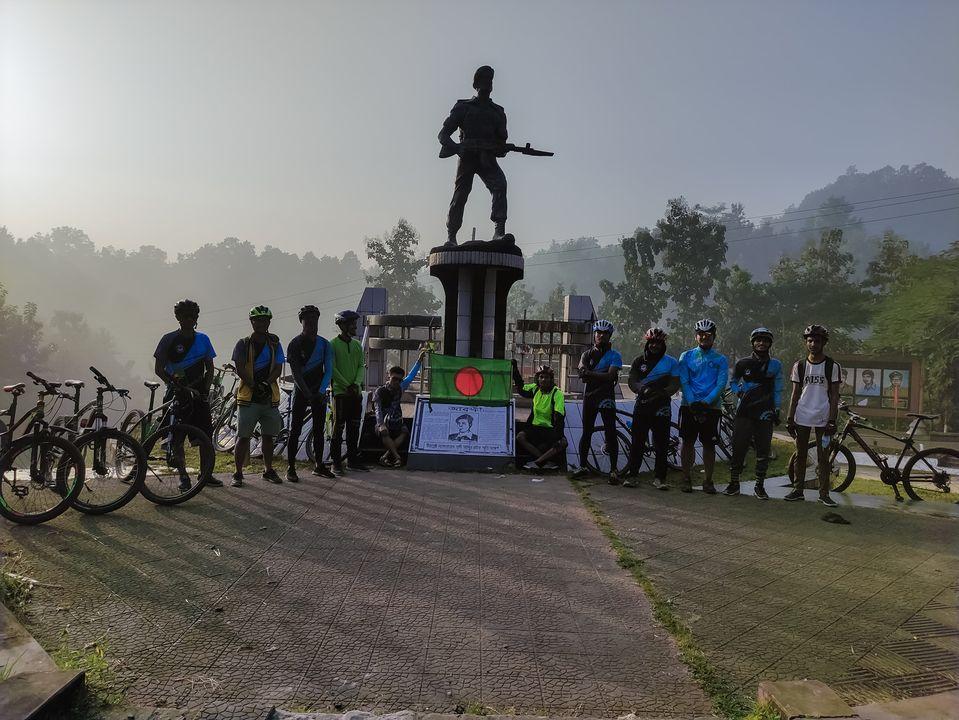 রাঙামাটিতে থেংগাড়িওয়ালাদের বিজয় রাইড