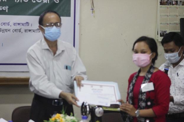 উন্নয়ন বোর্ডে ৩দিনব্যাপী  উদ্যোক্তা উন্নয়ন প্রশিক্ষণ সমাপনী অনুষ্ঠিত
