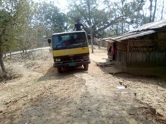 রাজস্থলী নোয়াপাড়া সড়কের বেহাল অবস্থা