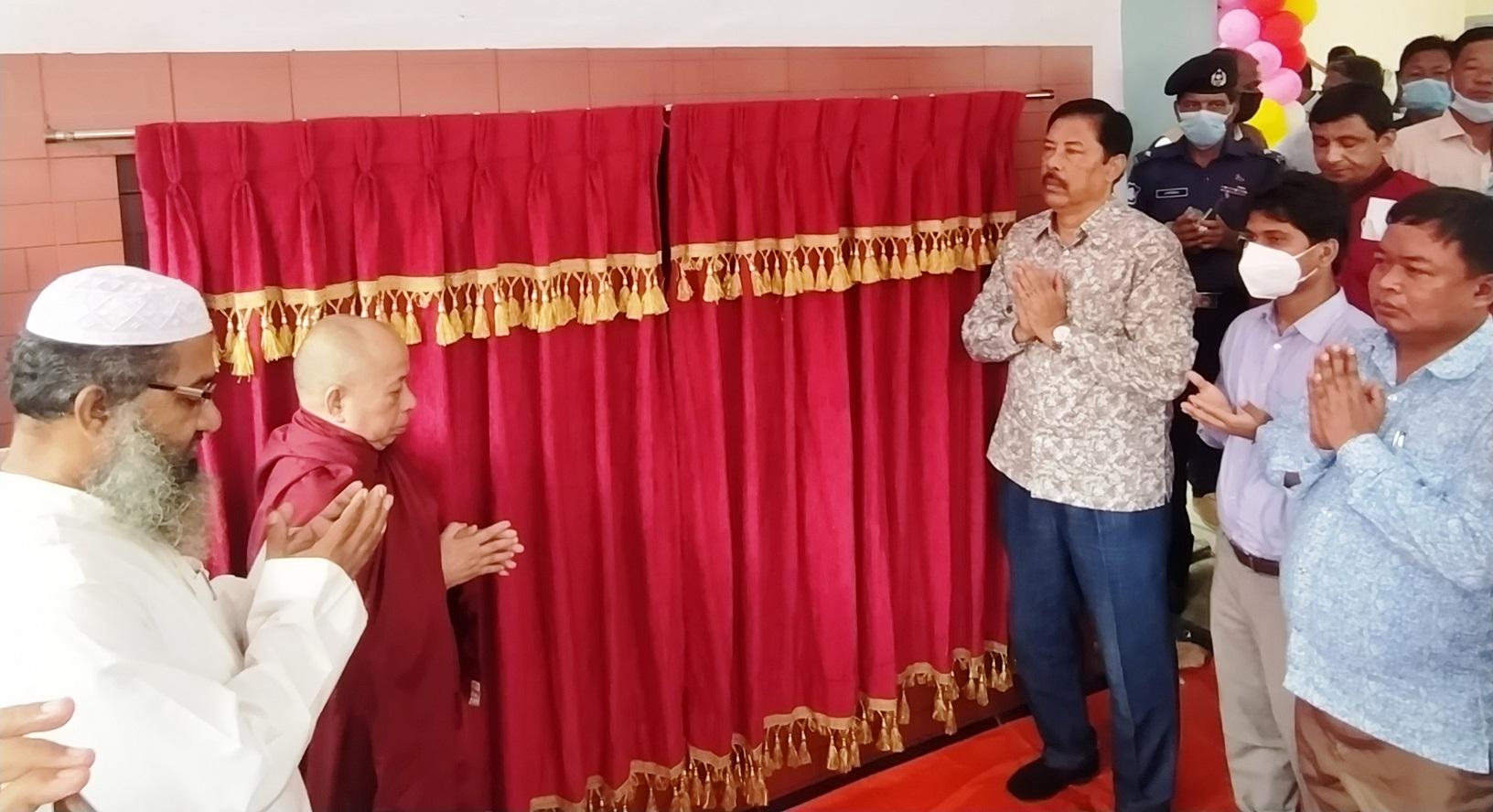 বান্দরবানে ৫টি উন্নয়ন কাজের উদ্ধোধন