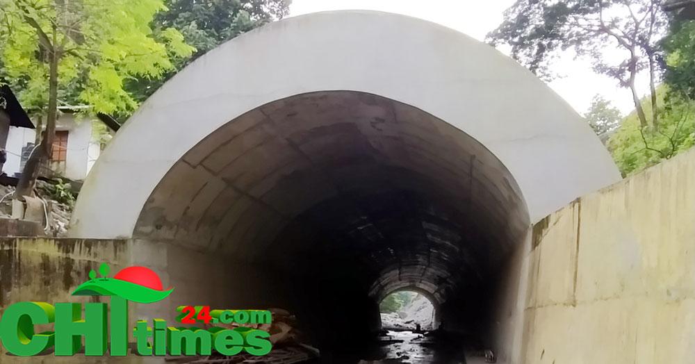 উন্নয়নবোর্ডের অর্থায়নে বান্দরবানেনির্মিত হচ্ছে ৫'শ ফুট দীর্ঘ টানেল