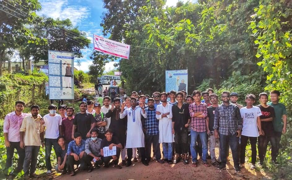 রাবিপ্রবি'র ভর্তিযুদ্ধে অংশগ্রহণকারী শিক্ষার্থীদের পাশে ছাত্রলীগ